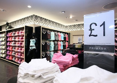 Fast fashion store Primark